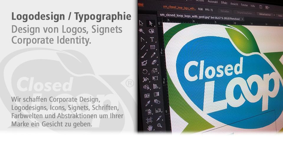 Logodesign Typographie Leipzig